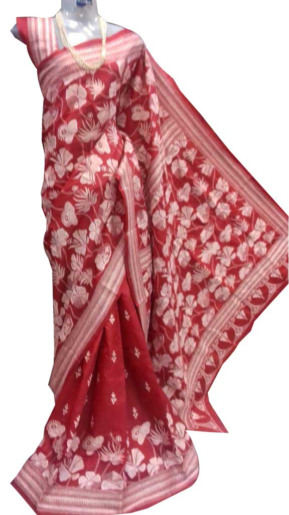 KANTHA hand embroidered Sarees 2