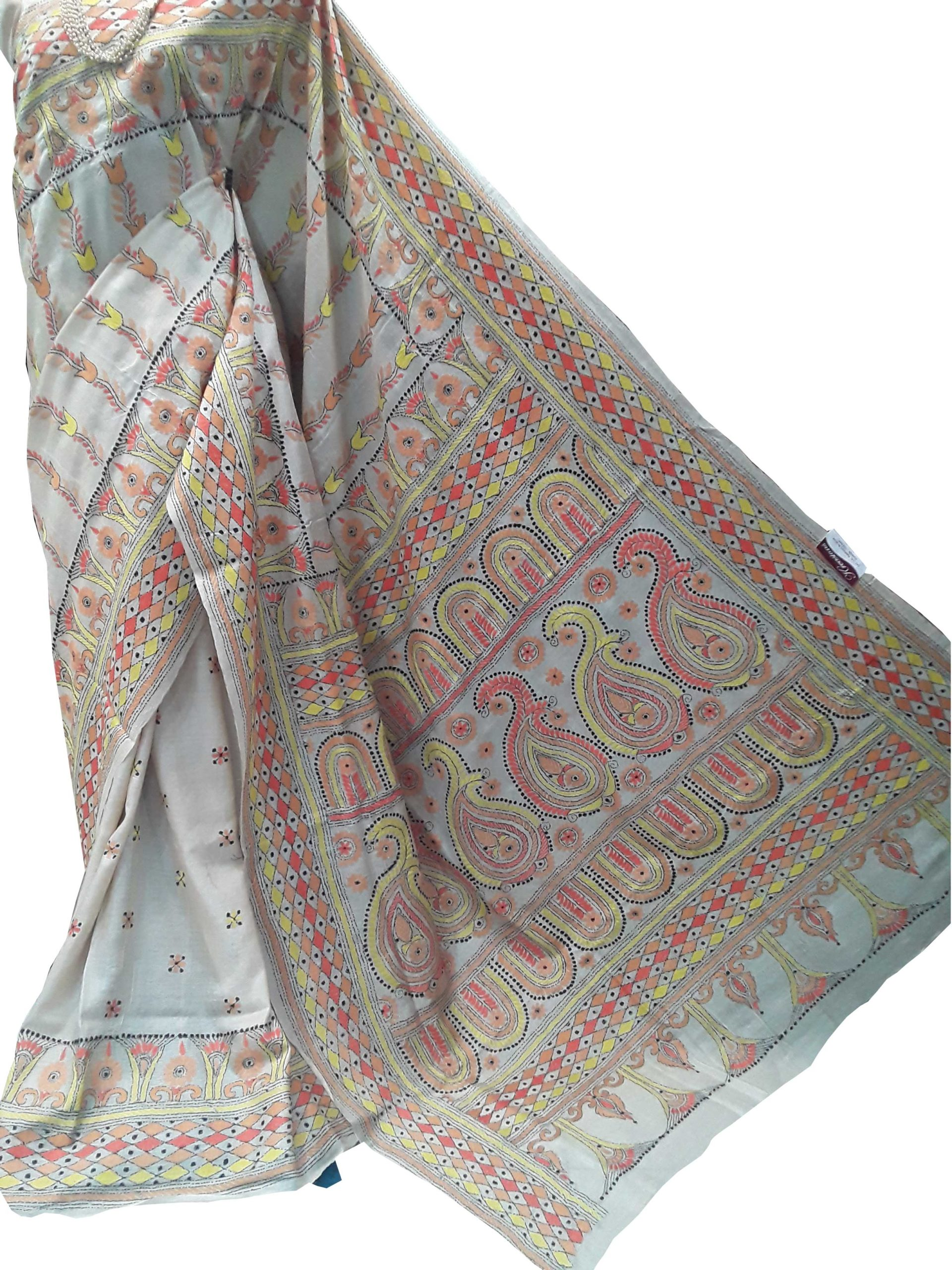 KANTHA hand embroidered Sarees 3